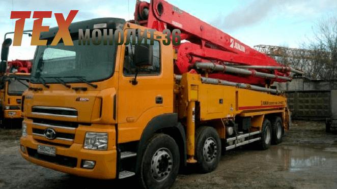 услуги бетононасоса недорого
