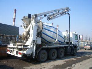 Услуги бетононасоса за час