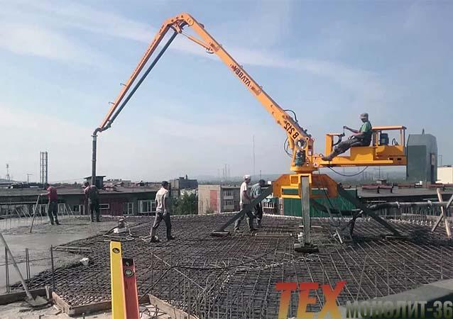 стоимость услуги бетононасоса